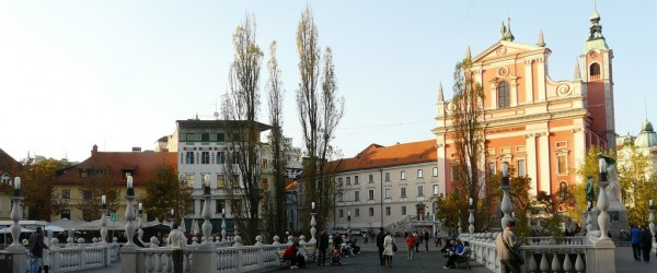 Lubiana, la capitale che vive in piazza