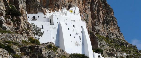 Amorgos, quel monastero è un miracolo